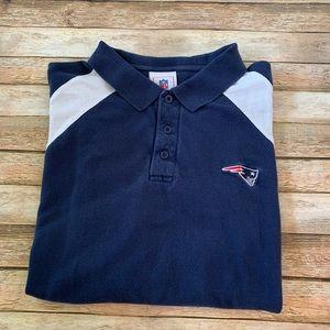 NFL Shirts - NFL New England Patriots Men's Polo Shirt